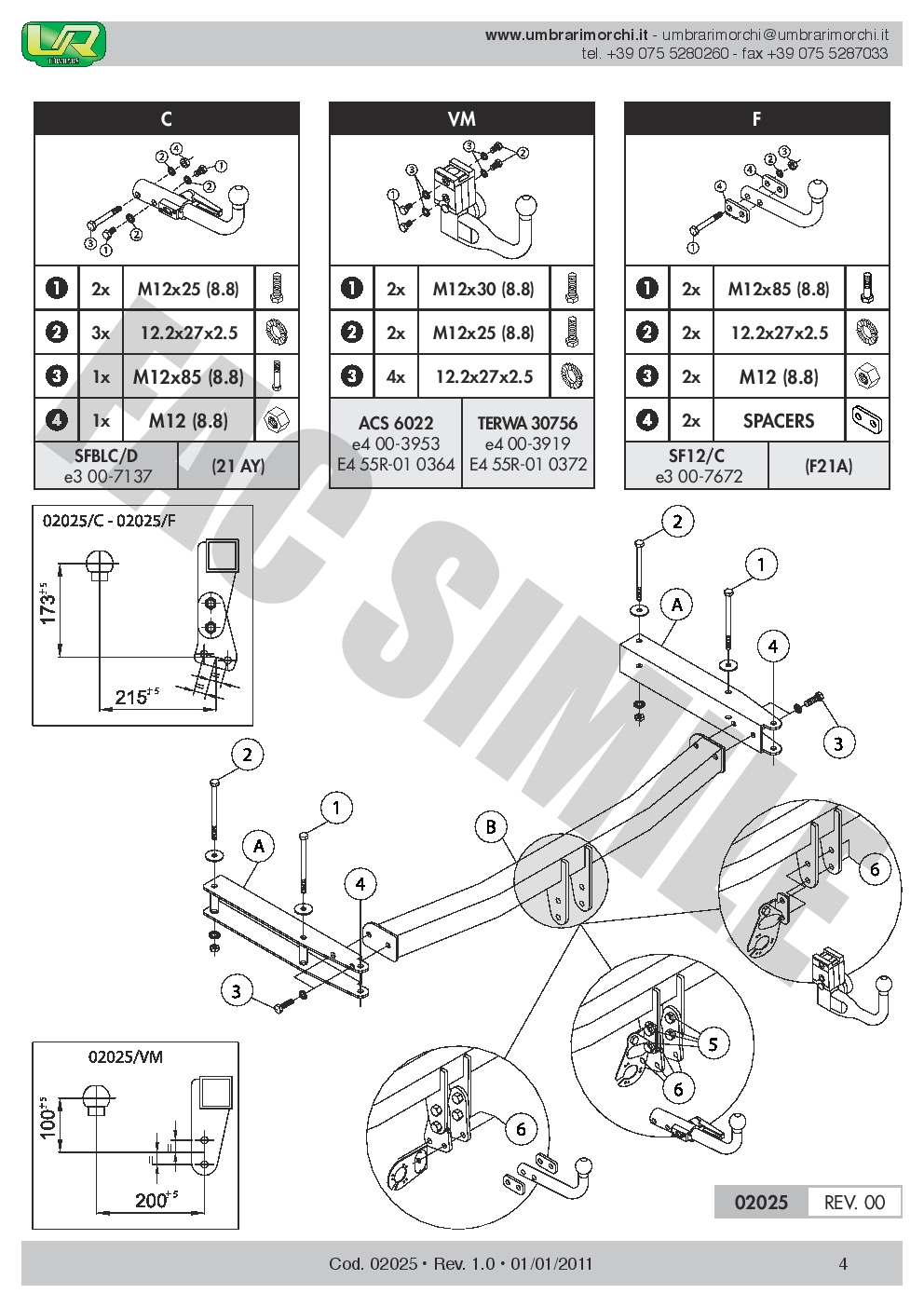 AHK Abnehmbare Anhängerkupplung 7p C2 E-Satz Audi A6-S6 Quattro 08-11 02025//C/_B2