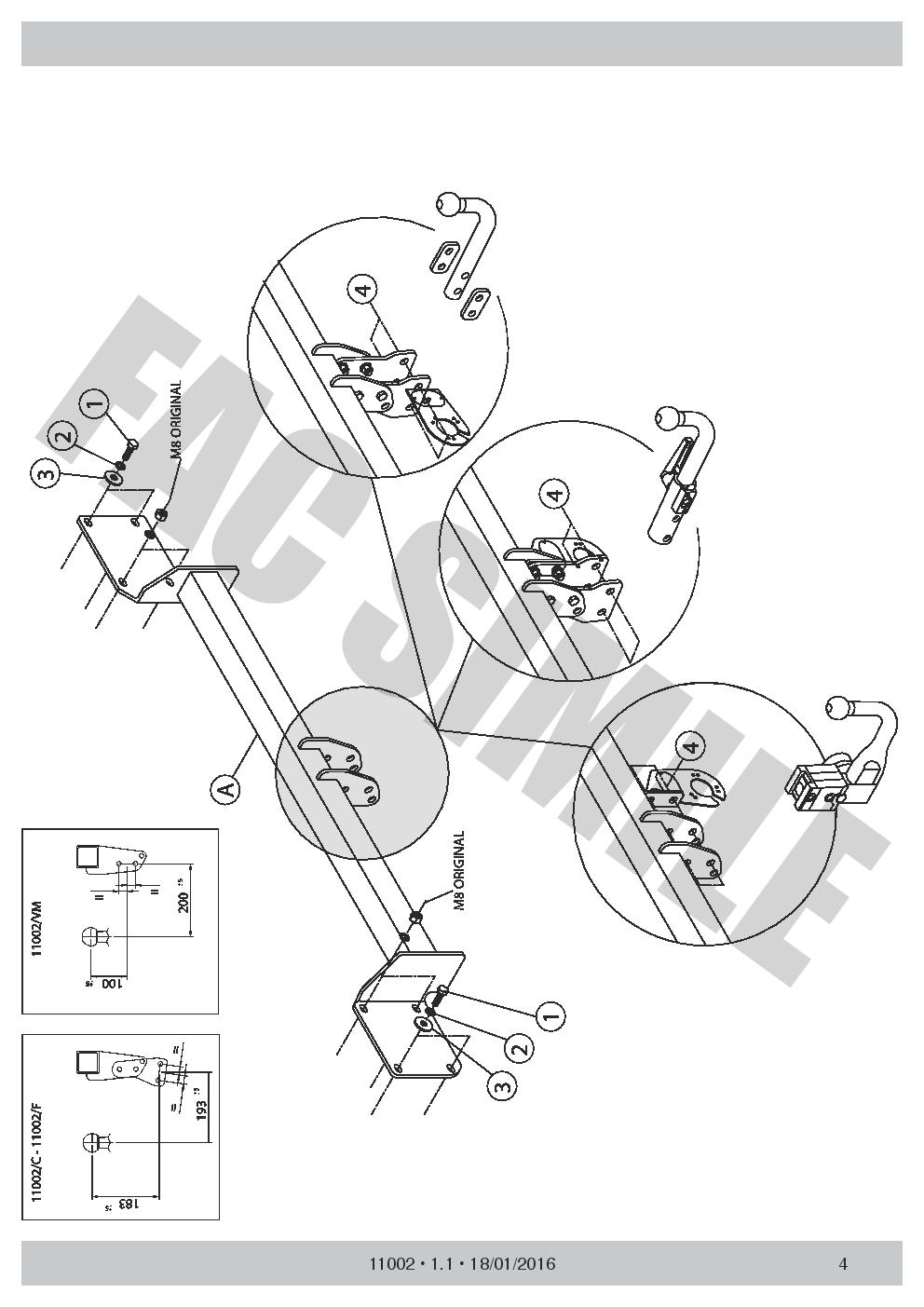 7pin Bypass Relay for Mini Clubman R55 Estate 3-5 dr 2007-15 E1 Detach Towbar