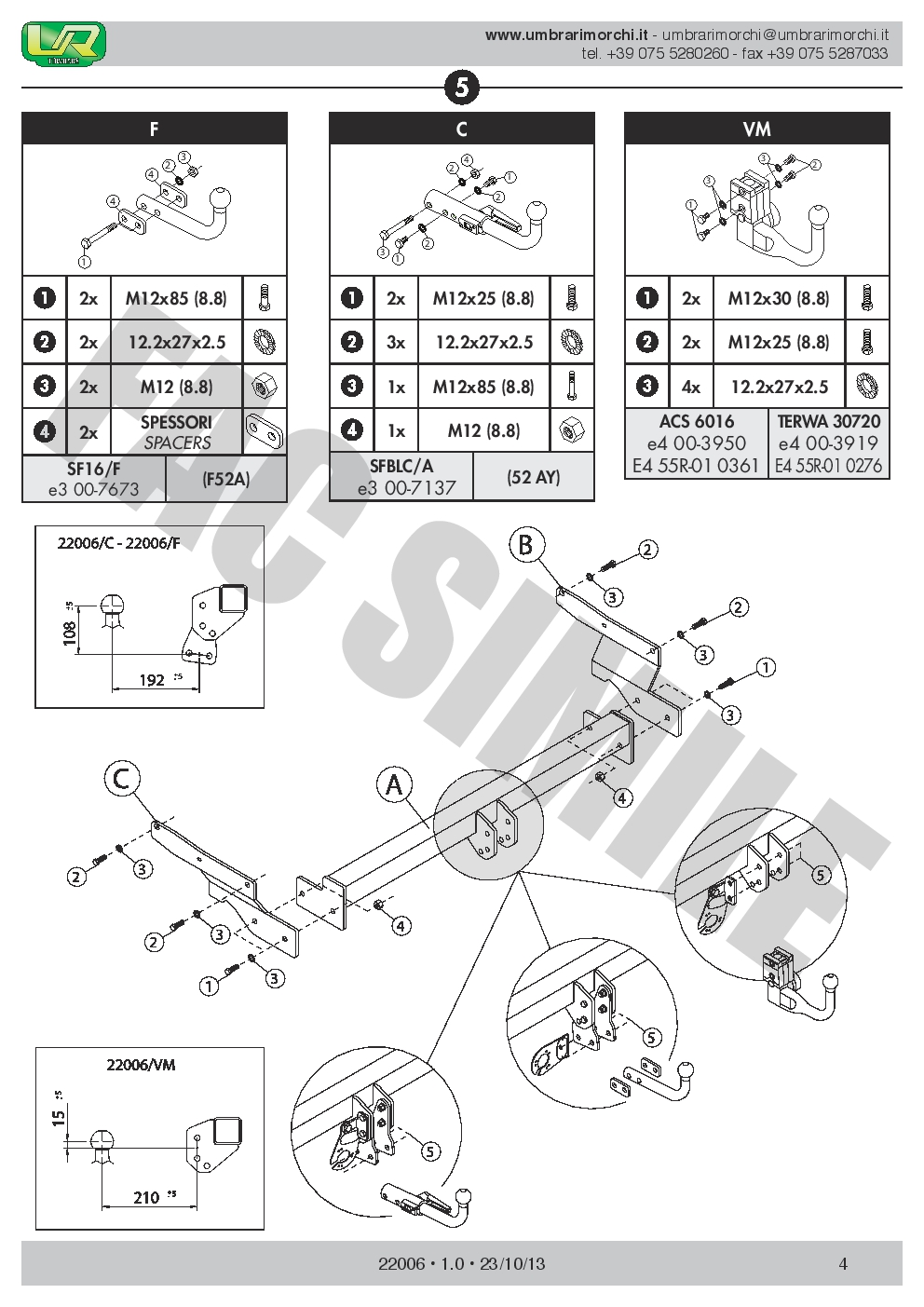 Detachable Towbar for Mazda CX-5 2-4WD 12 on New 22006//C/_H1