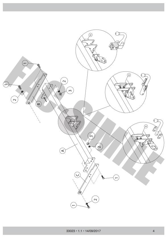 33023VM/_UKH6 13p C2 Wiring Kit for VW Tiguan 2-4WD 2016 Vert Detachable Towbar