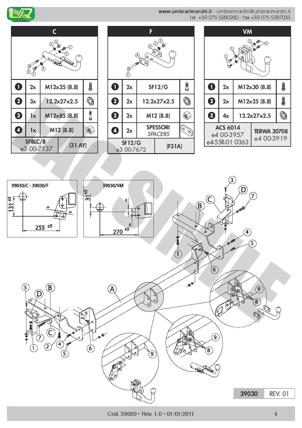 Attelage Col Cygne Faisceaux 7 Br pour Toyota RAV4 III 5p 4WD 06-08 39030//F/_B1