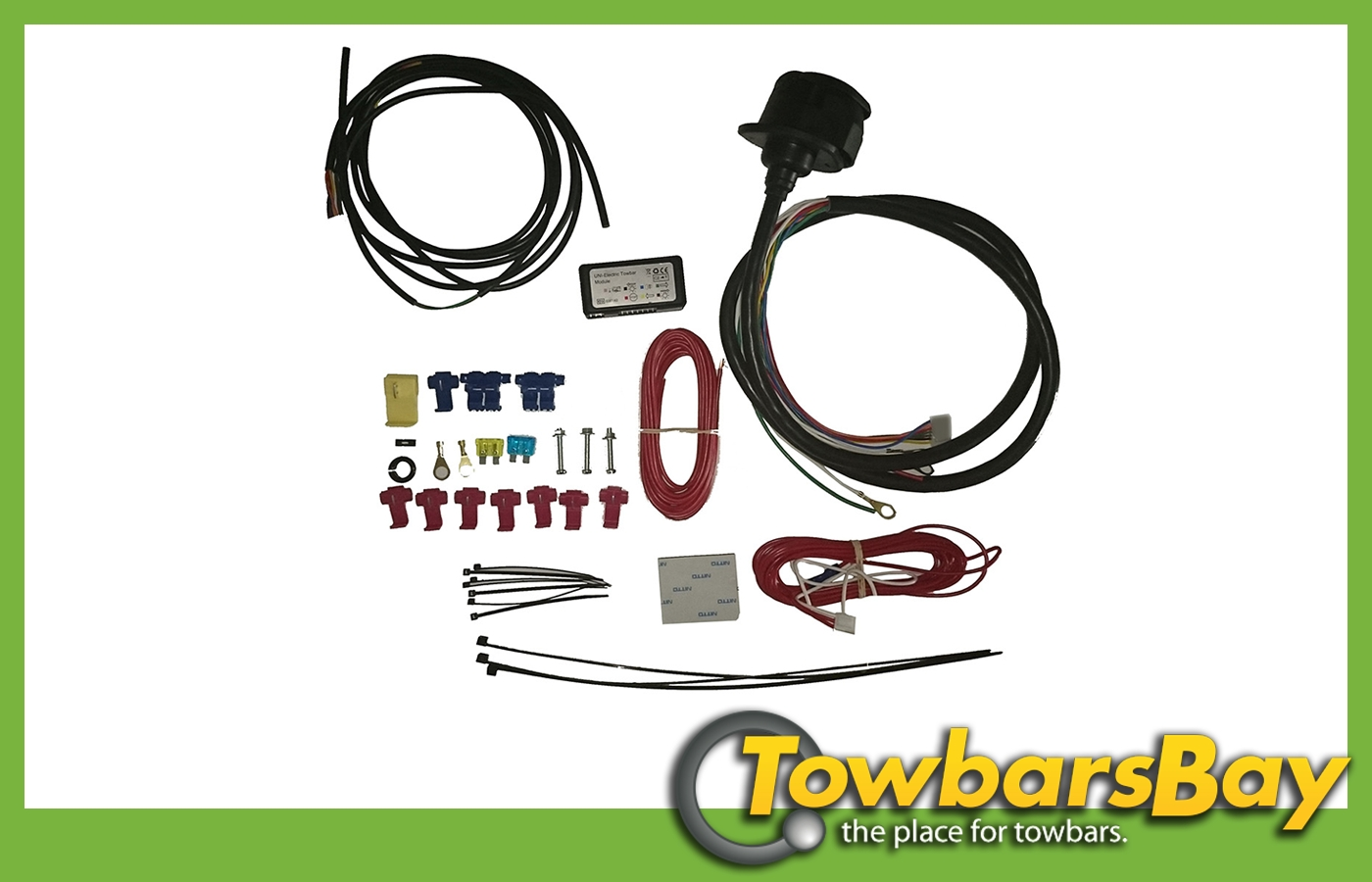 Anhängerkupplung Kabelsatz 13-polig C2 Universell Elektrosatz C2 Modul 955.403