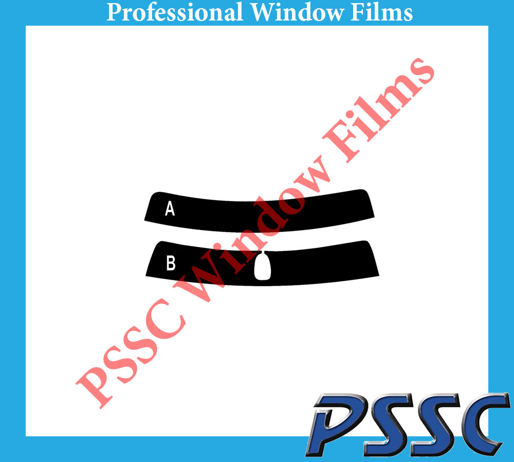 PSSC Pre Cut Rear Car Window Films for BMW 3 Series Saloon 1998 to 2005 05/% Very Dark Limo Tint