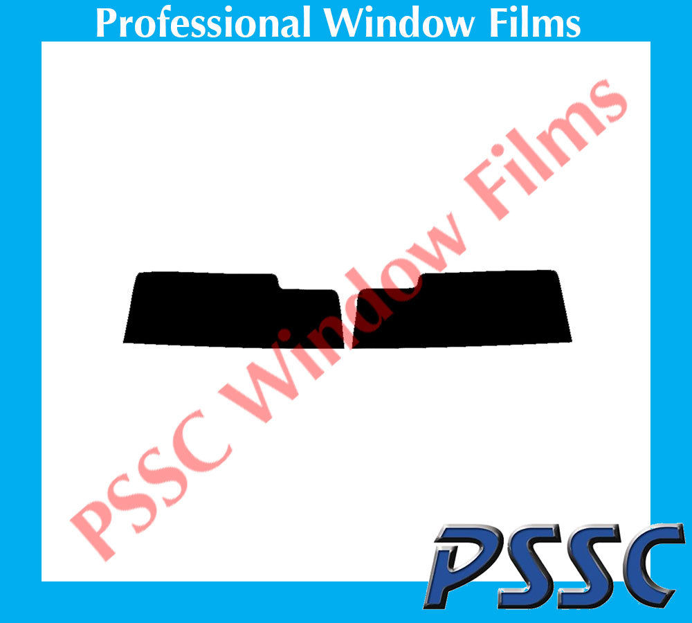 PSSC Pre Cut Front Car Window Films for Peugeot 206 CC Open Top 2001 to 2010 05/% Very Dark Limo Tint