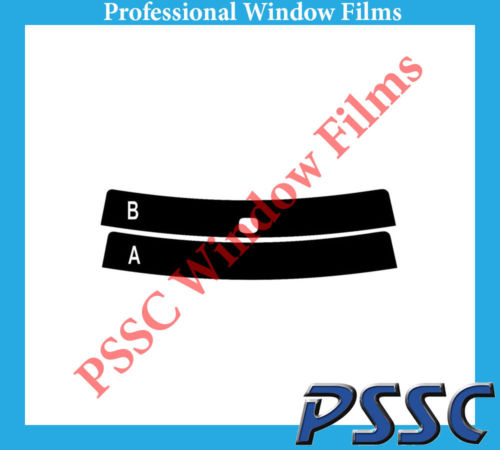 PSSC Pre Cut Rear Car Window Films for VW Jetta Saloon 2006-2010 5/% Very Dark Limo Tint