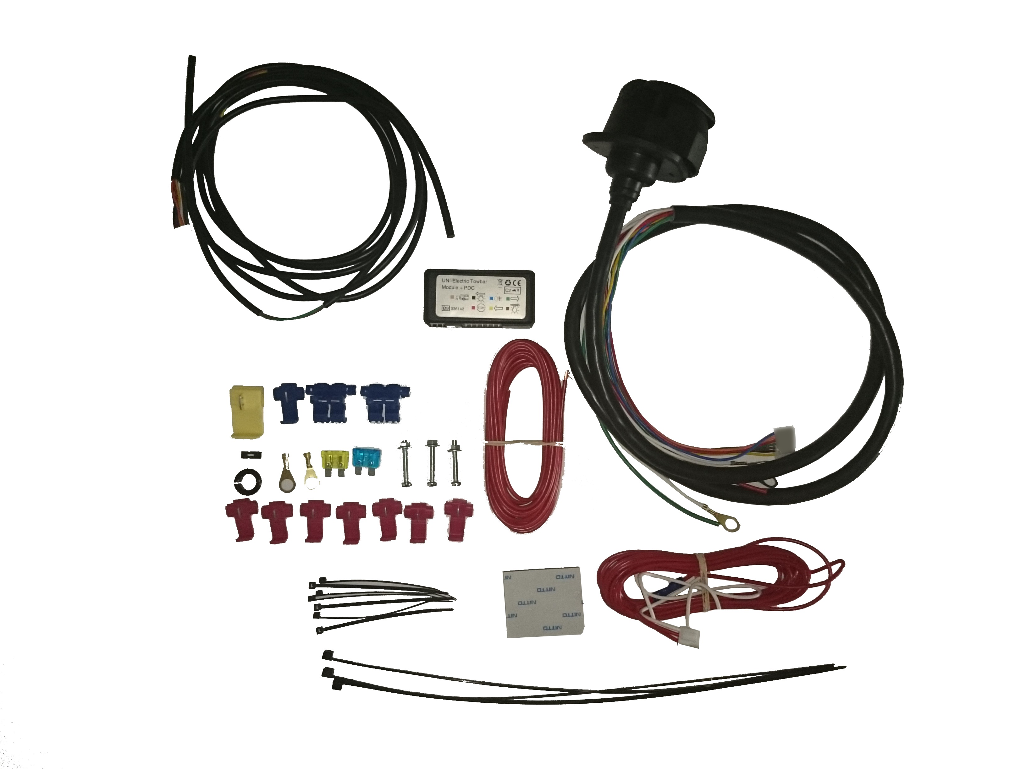 Towbar Wiring Kit 13 Pin C2 Universal Towing Electrics