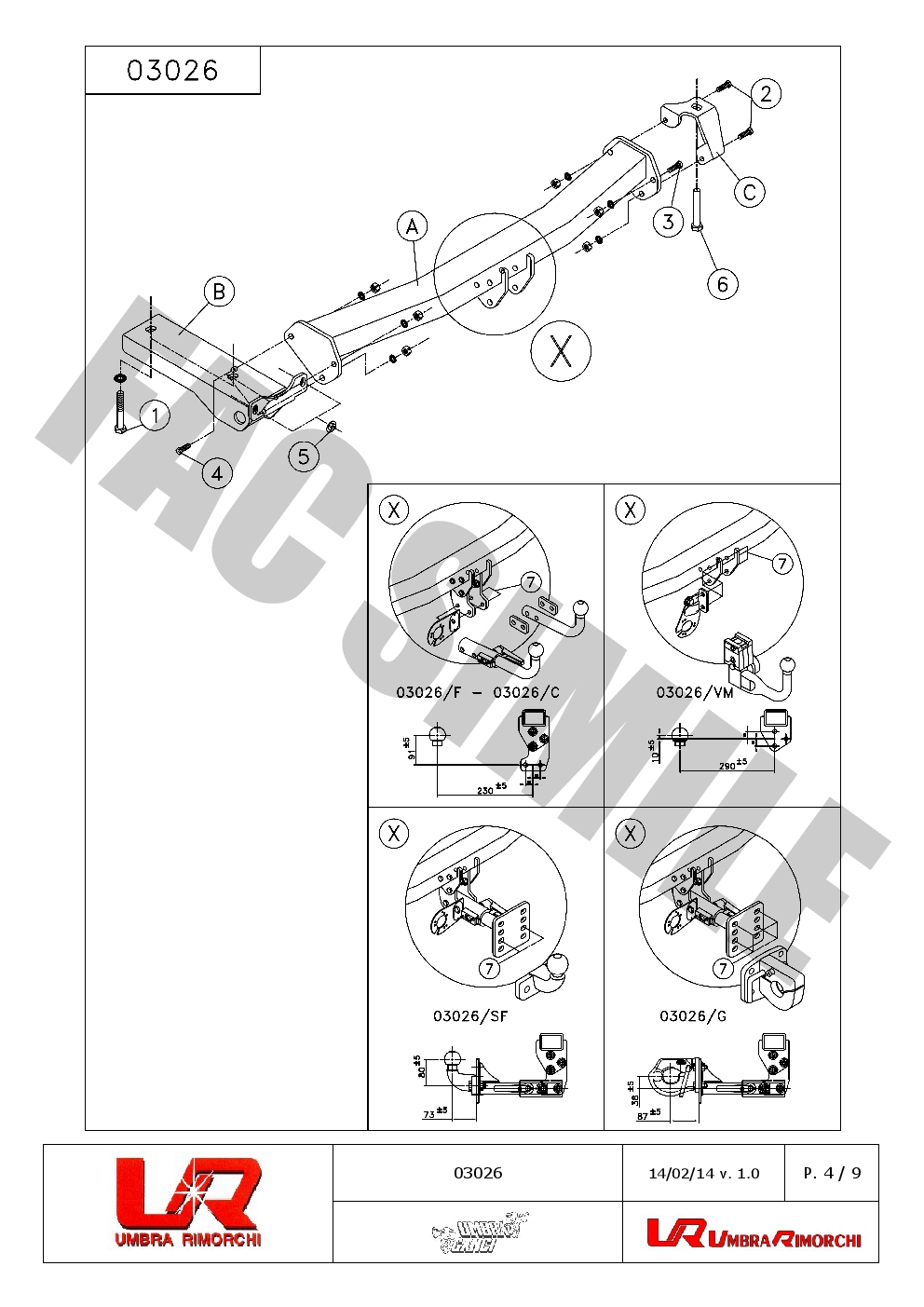 Fixed Swan Neck Towbar For Land Rover Freelander Ii 08on 13 Pin 1 Wiring Diagram 1603026 C