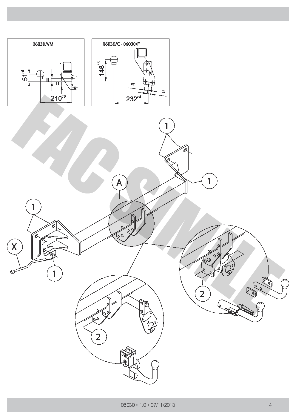 Swan Neck Towbar 7p Bypass Relay For Bmw X1 Suv E84 2 4wd 2009 15 Wiring Diagram