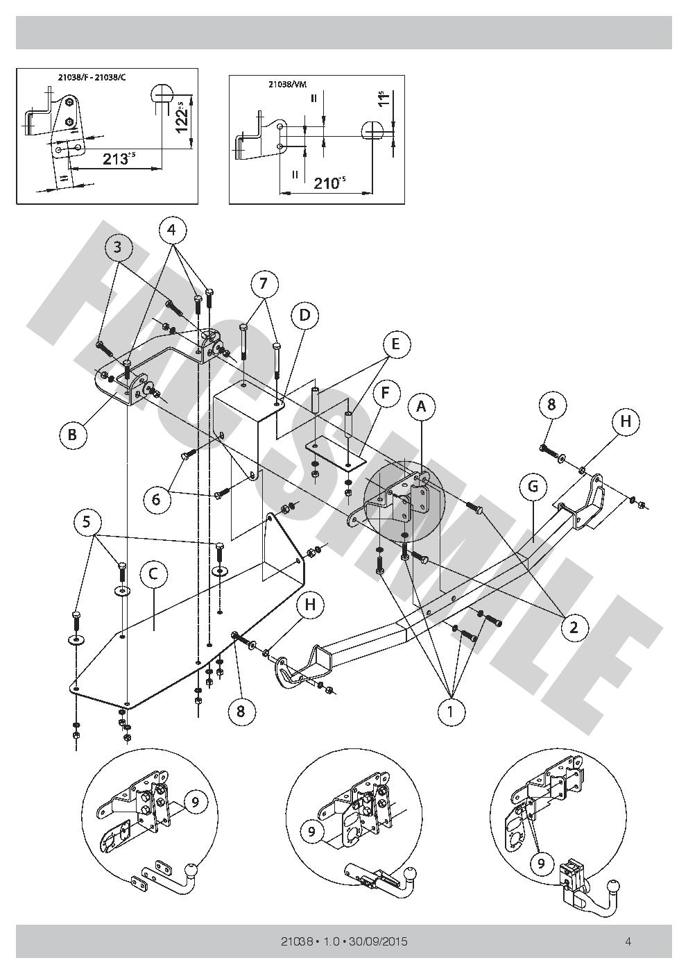 Vertical Towbar 13pin C2 Wiring Kit For Lancia Thesis Saloon 02 08 13 Pin Diagram