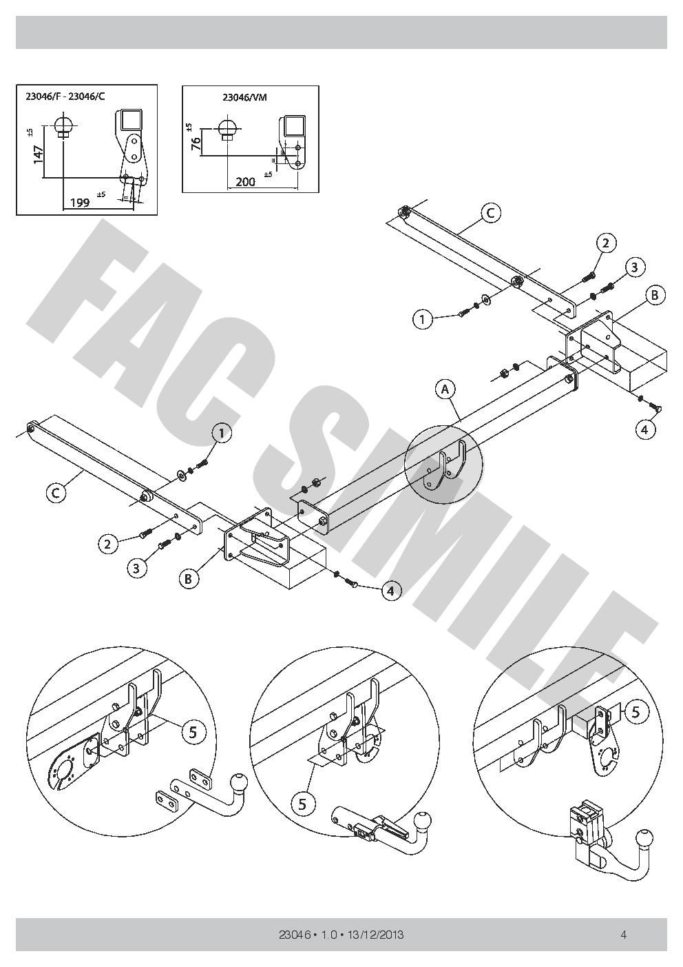 Vertical Towbar 13p C2 Wiring For Mercedes C Class Est Amg 07 14 Benz C240 Diagram