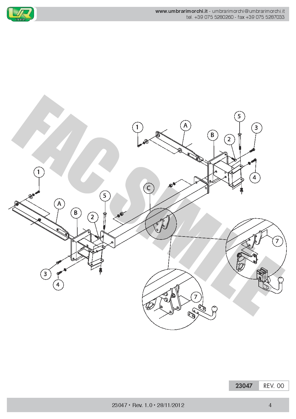 Swan Neck Towbar 13pin C2 Wiring For Mercedes Ml Suv 4wd Amg 05 11 13 Pin Diagram