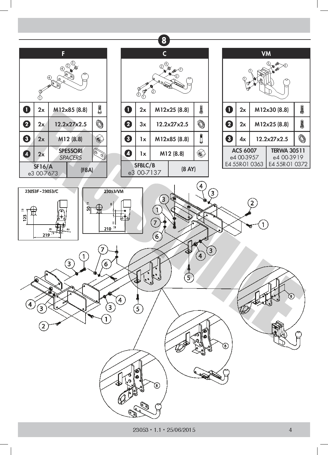 Detach Towbar 7p Wiring For Mercedes C Class Estate Excl Amg 01 07 Benz C240 Diagram
