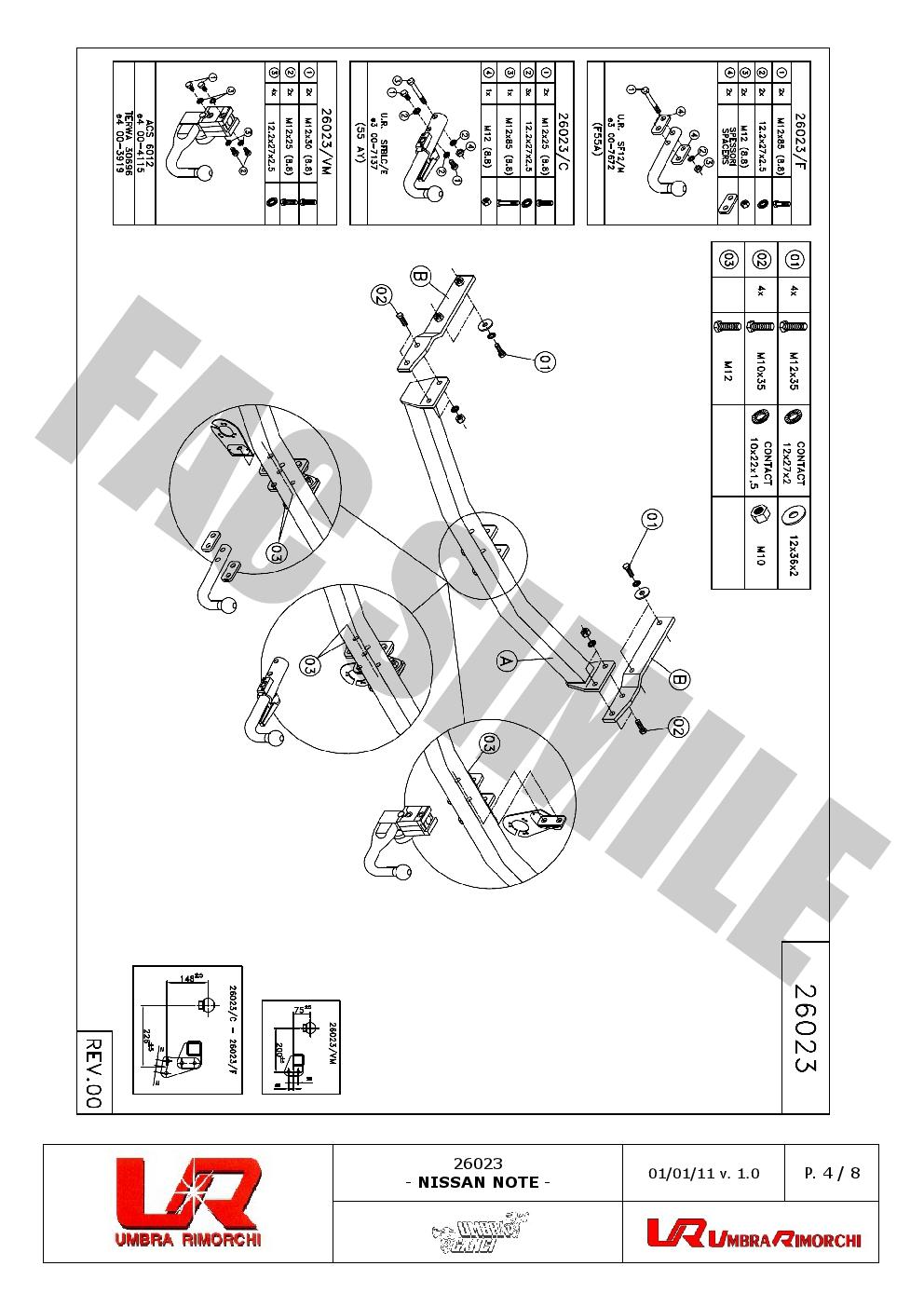 Swan-Neck-Towbar-13p-C2-Wiring-Kit-for-