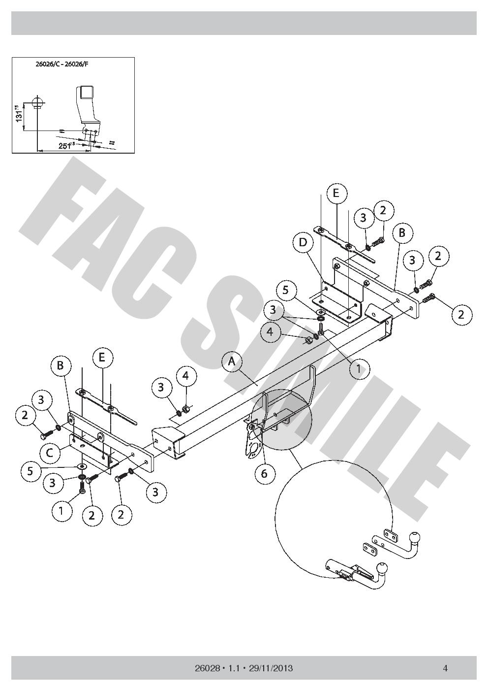 attelage col cygne faisceaux 7br pour nissan juke 2wd pas 4x4 10 14 26028 f e1 ebay. Black Bedroom Furniture Sets. Home Design Ideas