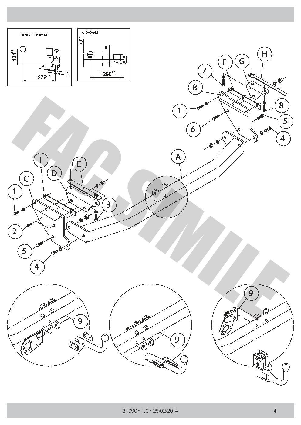 vertical detachable towbar 13p c2 wiring for renault koleos suv 4wd 08