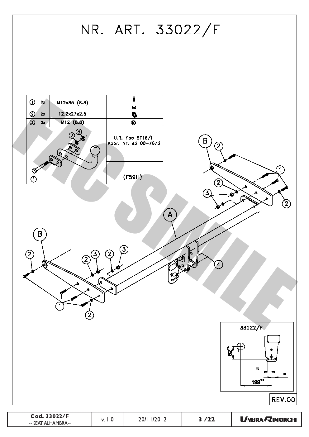 AHK Feste Starr Anhängerkupplung 7p C2 E-Satz für VW SHARAN MPV 10+ ...