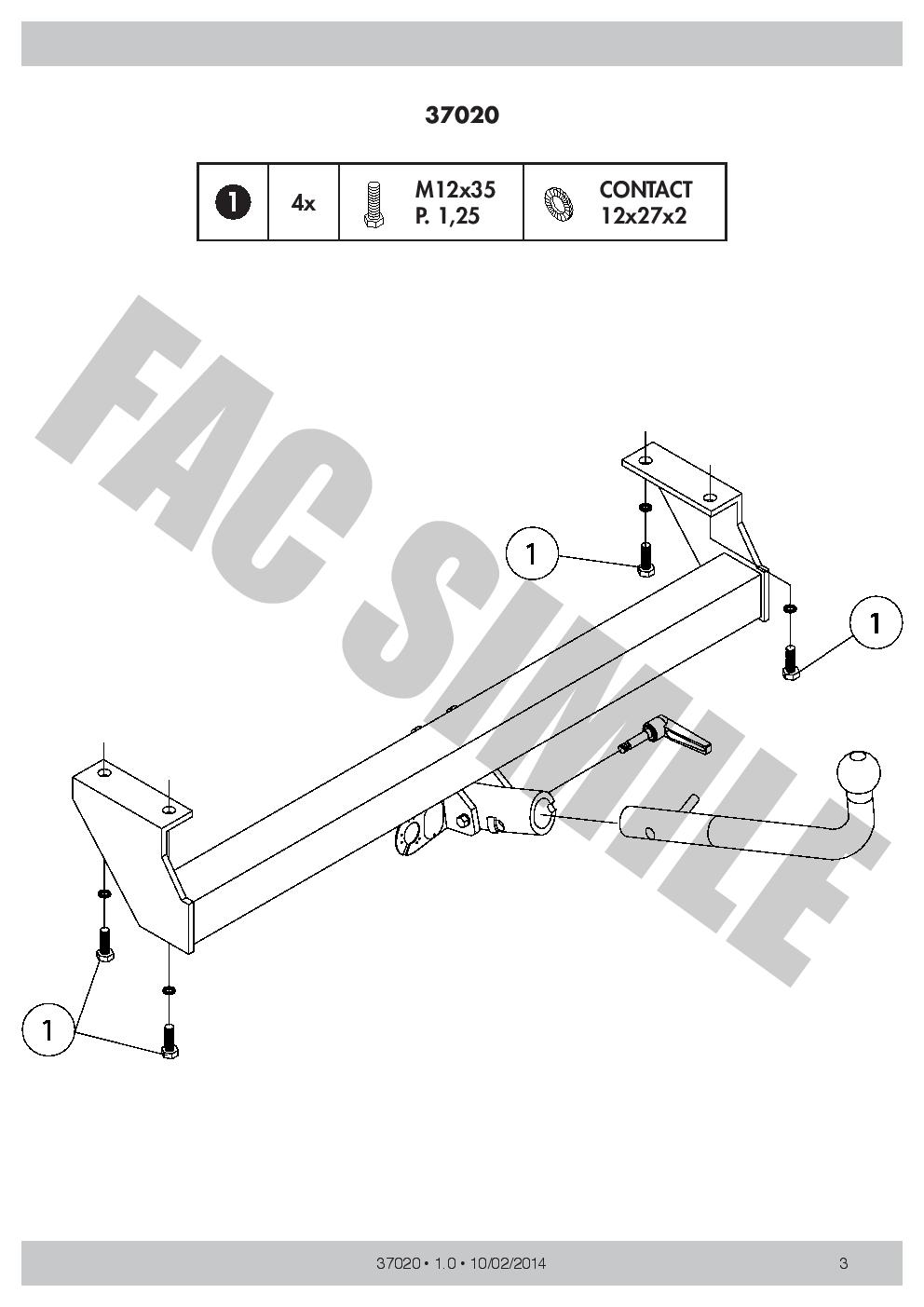 Detach Towbar 13pin C2 Wiring For Suzuki Grand Vitara 4wd Cabrio Diagram Daihatsu Max
