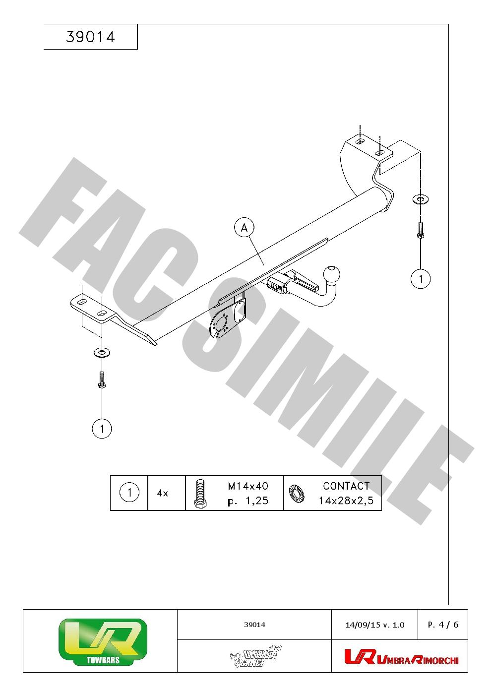 Detachable Towbar 13p C2 Wiring Kit For Toyota Carina E Estate 95 97 Fuse Box Location Tripleboo Market
