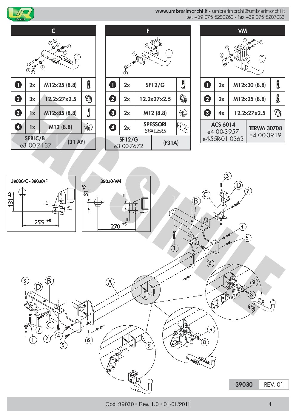 Swan Neck Towbar   7p Wiring For Toyota Rav4 Iii 5dr 4wd