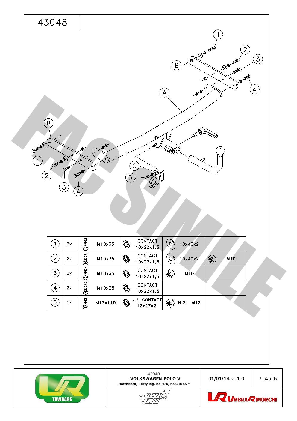 Attelage Démontable 7 Br relais dérivation pour Suzuki ALTO HAYON 02-07 37015/_A1