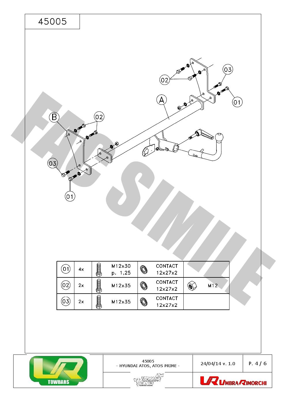 Abnehmbare-Anhaengerkupplung-fuer-Hyundai-Atos-Prime-Fliessheck-98-03-45005-E12