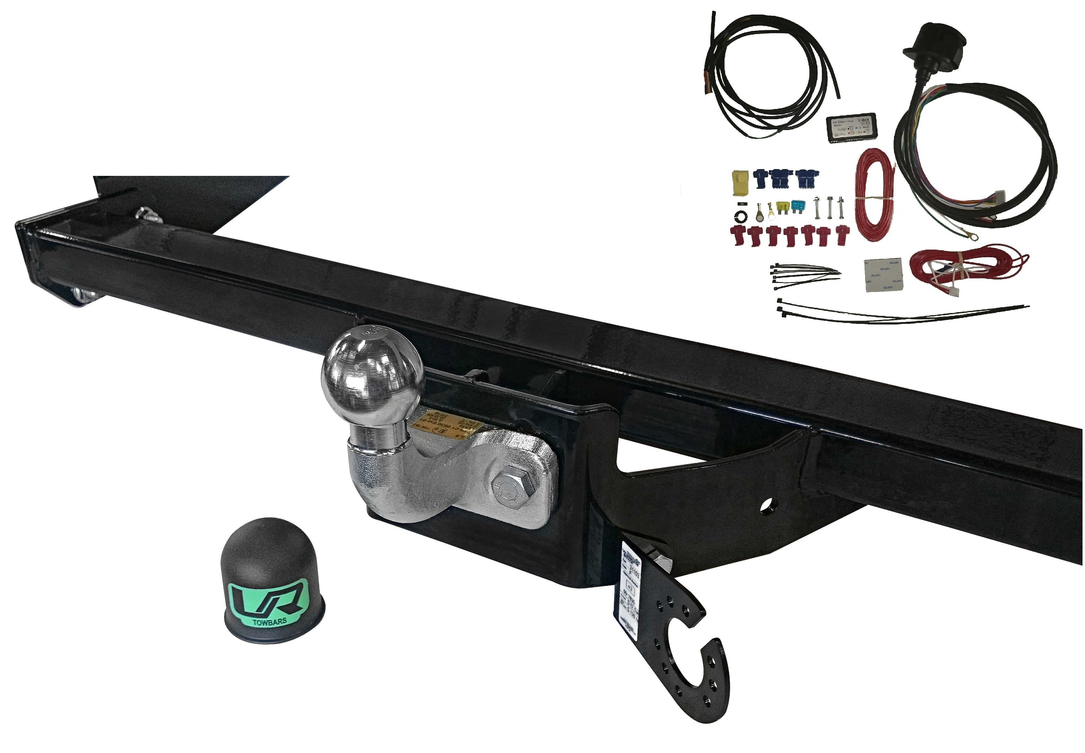 Image is loading Fixed-Flange-towbar-13pin-C2-Wiring-for-Mazda-