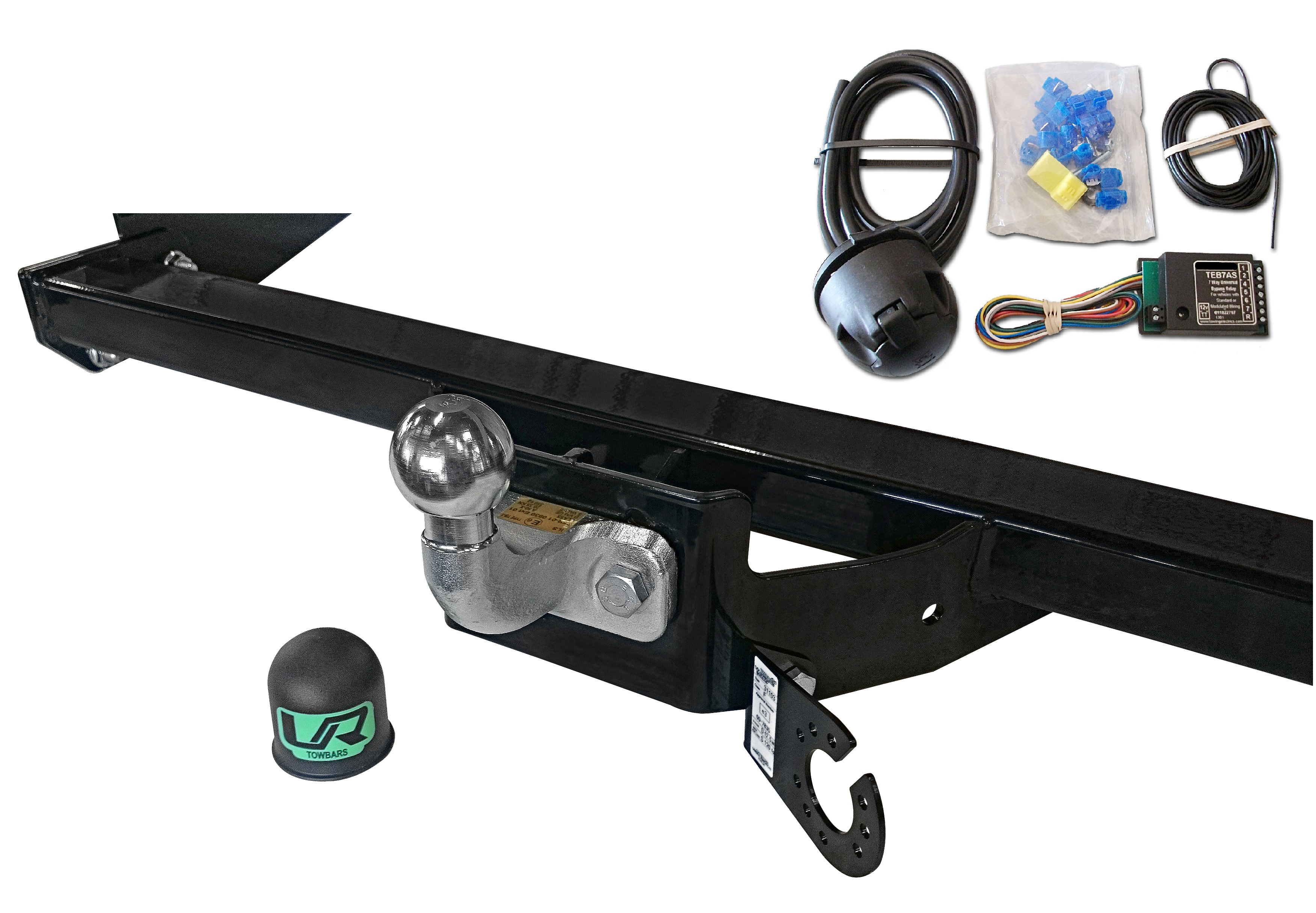 how to get trailer on towbar