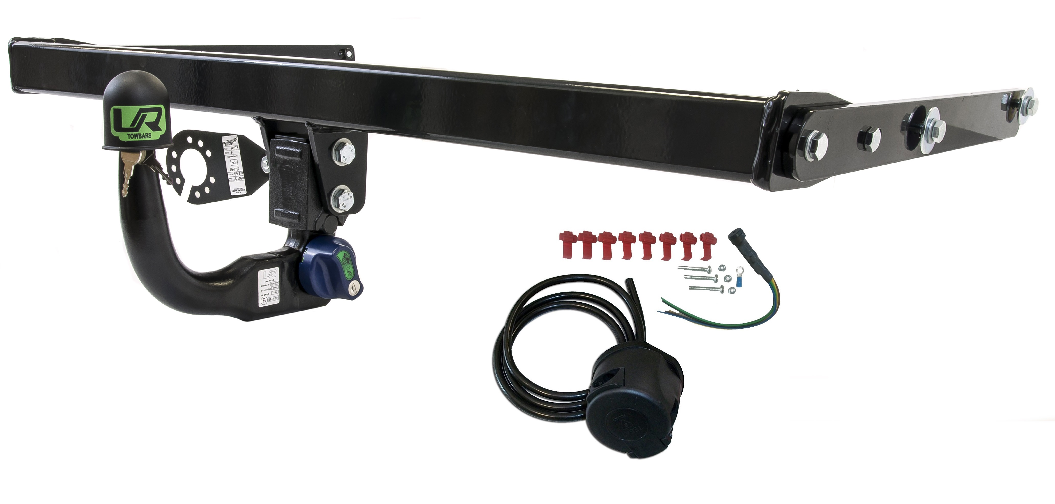 Image is loading Vertical-Towbar-7pin-Wiring-for-Skoda-YETI-SUV-
