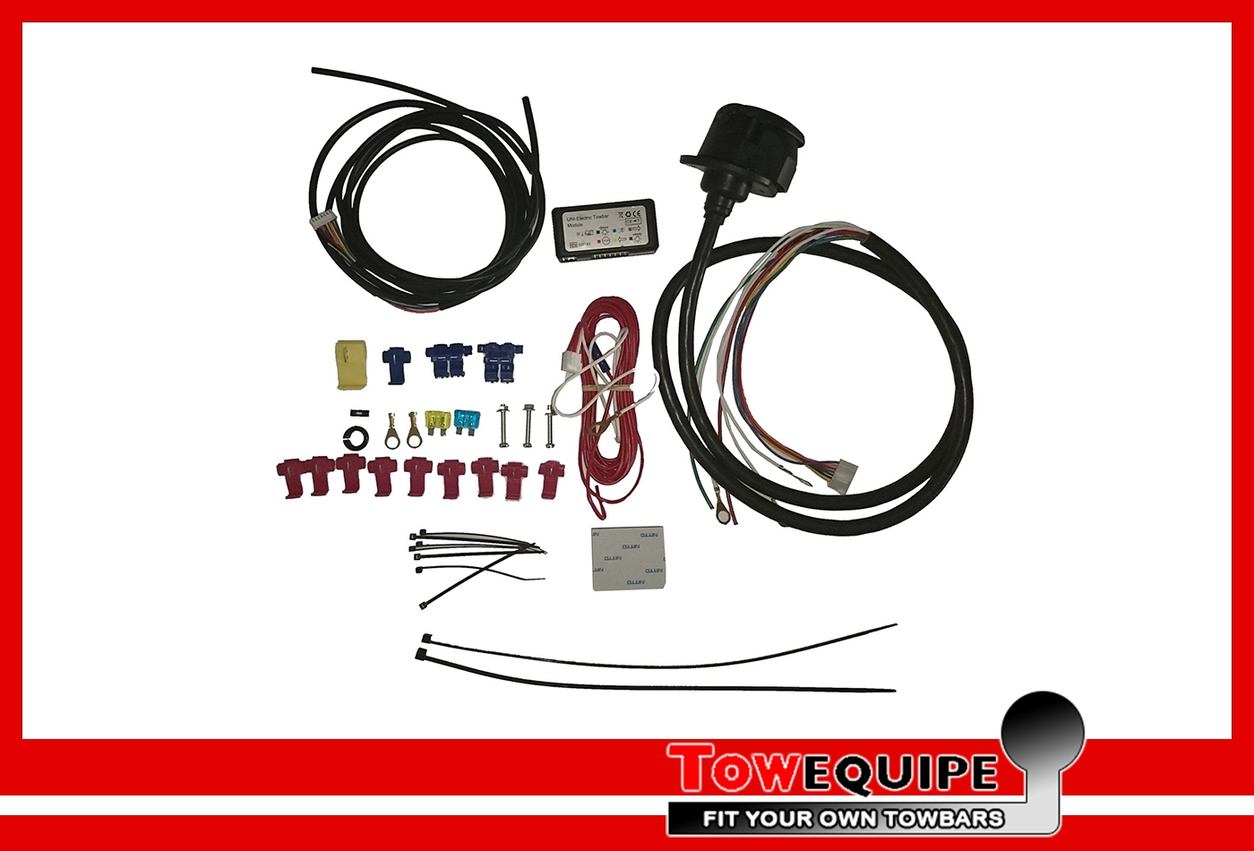 Towbar Wiring Kit 7p C2 Universal 12n Single Electrics With Pdc Tow Bar Control 955400