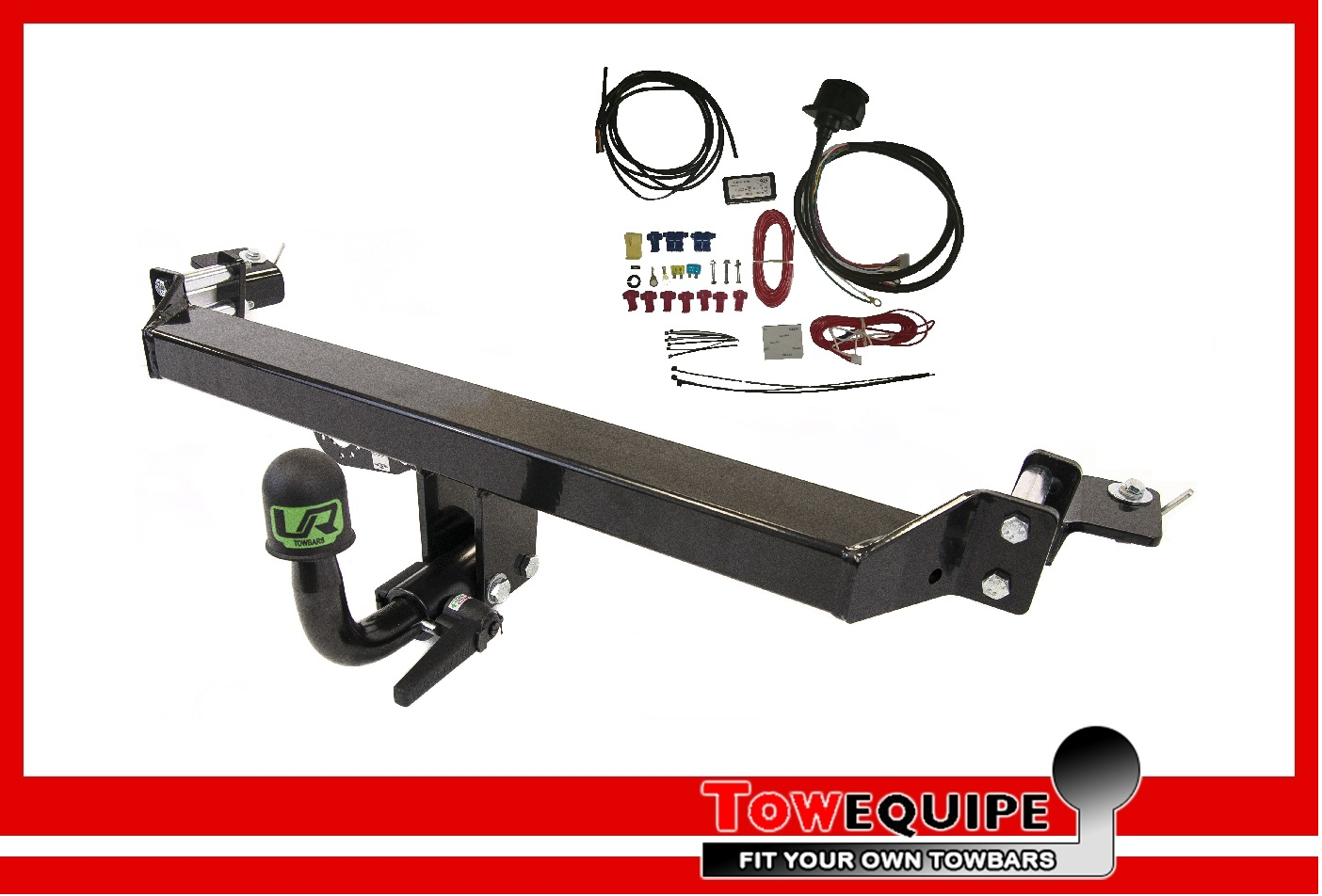 Detachable Towbar For Fiat 500X 2-4WD 2015 on Tow Bar 19022//C/_A1