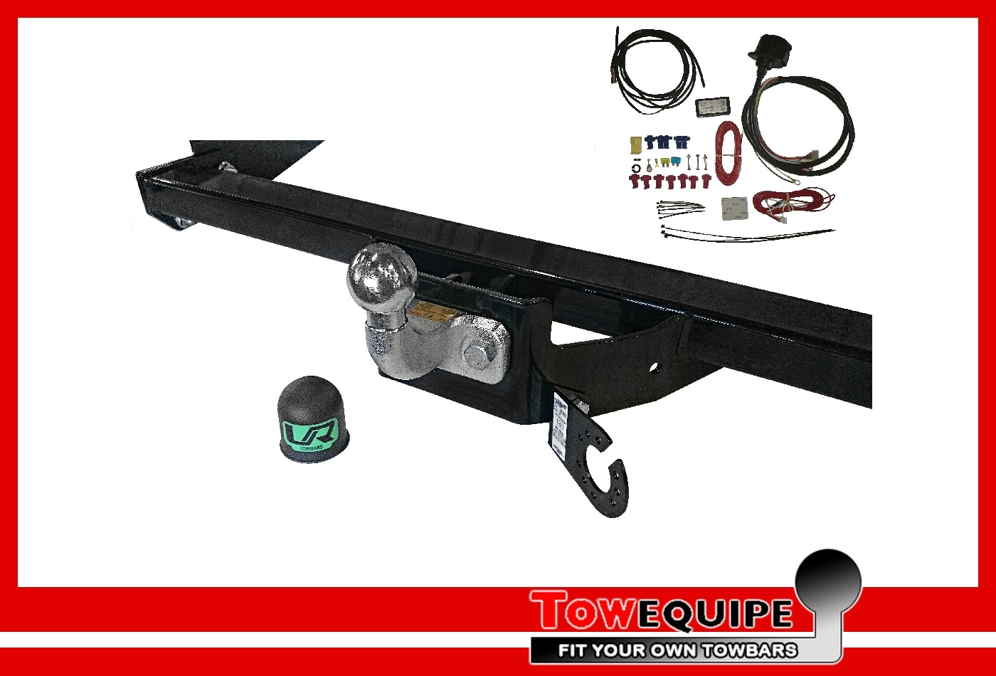 Fixed Flange Tow Bar Brink Towbar for Vauxhall Vivaro Van 2014 Onwards